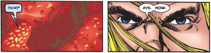 Remember when Thor spoke like this?  It's been a while.