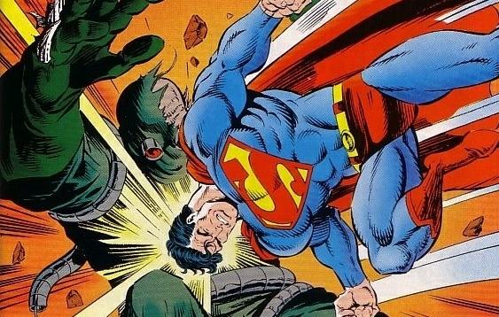 death of superman comic book pdf