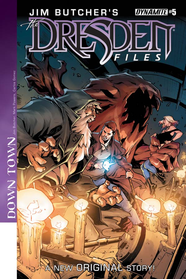 Dresden Files Downtown 5 Comicbookclog