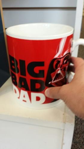 big bad dad darth vader coffee mug
