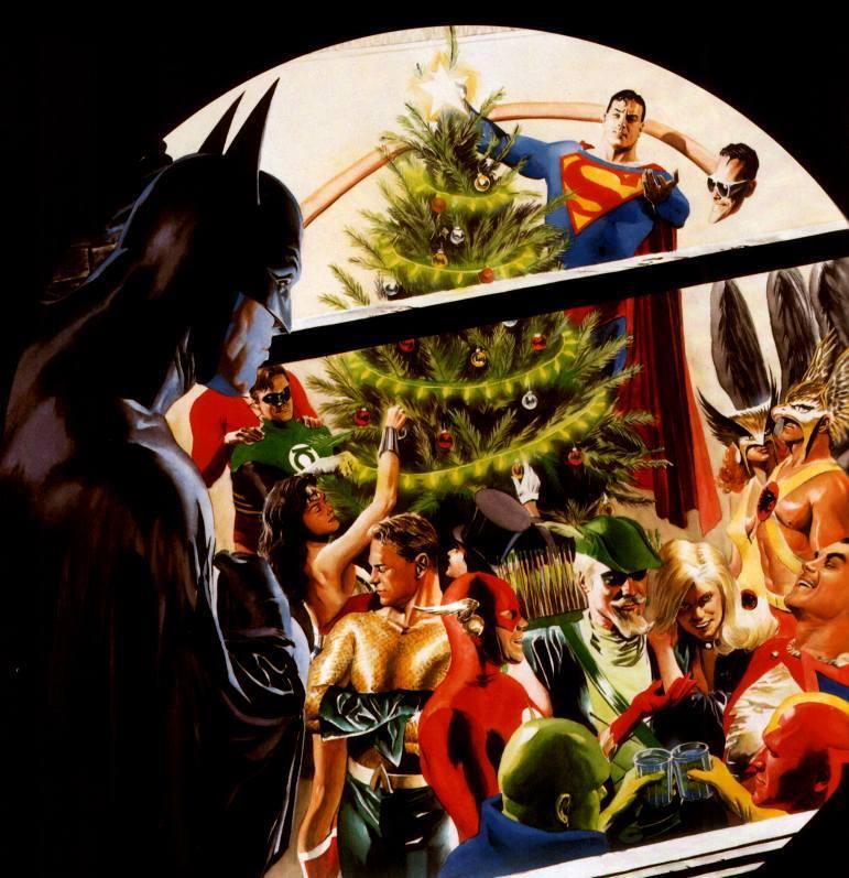 A Very DCU Christmas | ComicBookClog.com