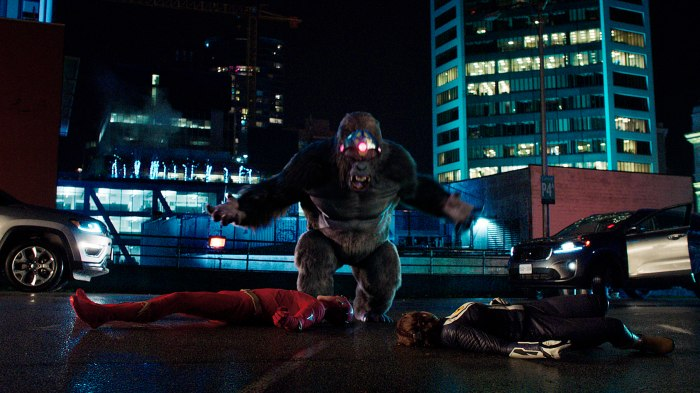 King Shark vs. Gorilla Grodd